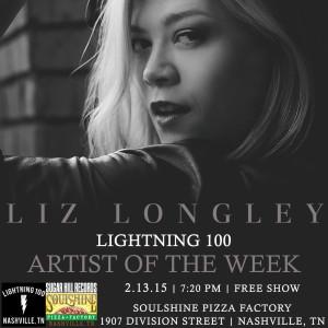 Liz Lightning 100 Artist ad